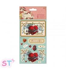 Victorian Valentine Mini Decoupage Heart