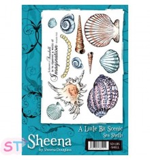 Sello Sheena Douglas Sea Shells