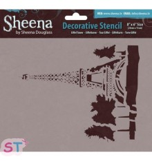 Plantilla Sheena Douglas Eiffel Tower