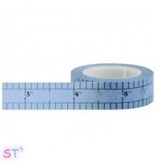 Washi tape Cinta Métrica Azul