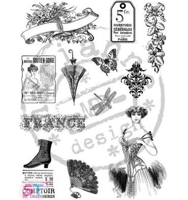 Sello Victorian Ladies 1 Marianne Design