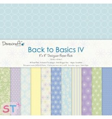 Paper pad Back to Basics IV 8x8 Dovecraft