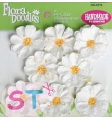 Sweetpeas x 8 blancas