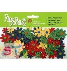 Jeweled Florettes x 80 Multicolor