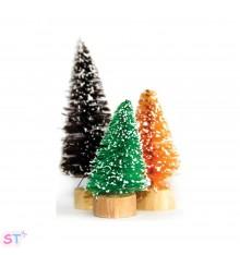 6 Mini árboles de tres tamaños