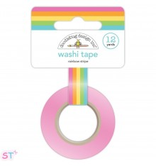 Washi tape Rainbow Stripe de Doodlebug