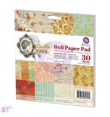 Paper pad Bella Rouge 6x6 de Prima Marketing