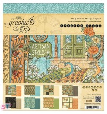 Paper pad Artisan Style 8x8 Graphic45