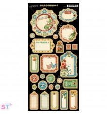Home Sweet Home Journaling Chipboard precortado Graphic 45