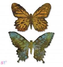 Troquel Bigz con emboss Tim Holtz Butterfly Duo