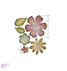 Troquel Jumbo Tattered Florals