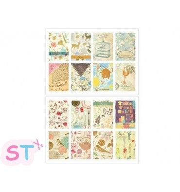 Set 16 sellos adhesivos Kitchen