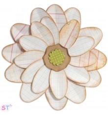 Troquel Bigz Petal Power Flower