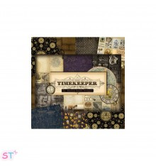 Paper pad Timekeeper de Marion Smith Designs 6x6
