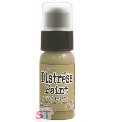 Tinta Distress Old Paper Botella 1 oz.
