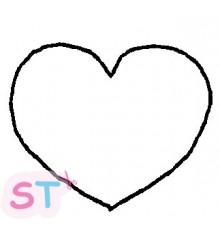 Sello Heart Open