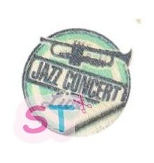 Adorno de madera Jazz Concert