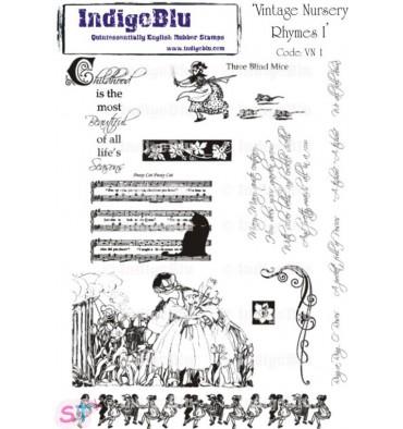 Indigoblu Vintage Nursery Rhymes I A5