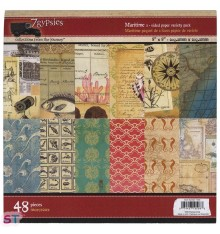 Paper pad Maritime 8x8 7 Gypsies