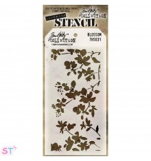 Plantilla Blossom Stampers Anonimous Tim Holtz
