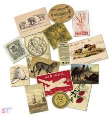 15 Figuras recortadas Serengeti