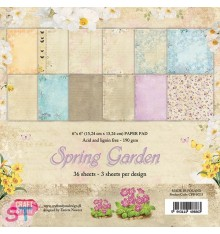 Paper pad Spring Garden 6x6 Craft & You