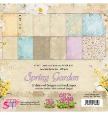 Paper pad Spring Garden 12x12 Craft & You