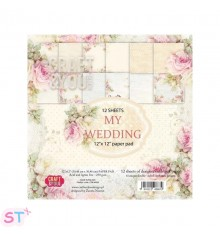 Paper pad My Wedding 12x12 Craft & You