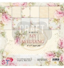 Paper pad My Wedding 6x6 Craft & You