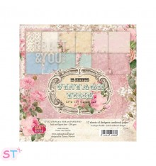 Paper pad Vintage Time 12x12 Craft & You