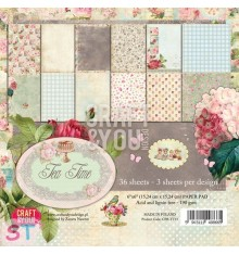 Paper pad Tea Time 6x6 Craft & You