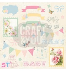 Hello Baby 7 Elements 12x12 Craft & You
