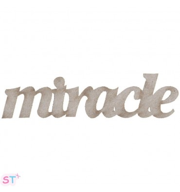 Miracle en chipboard