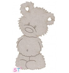 Teddy Bear en chipboard