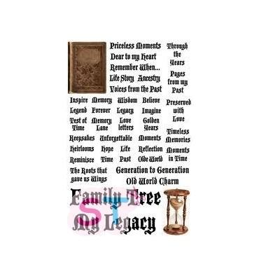 Stickers Heritage Words