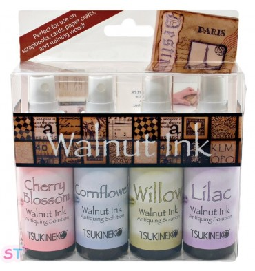 Walnut Ink Antiquing Solution 2oz x 4