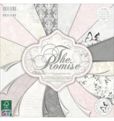 Paper pad First Edition The Promise 12x12 Dovecraft