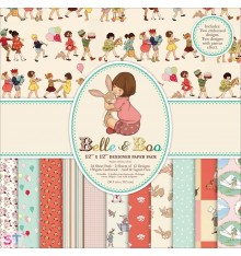 Paper Pad Belle & Boo 12x12