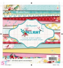 Paper Pad Flower Delight 6x6