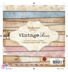 Paper Pad Vintage Line 6x6
