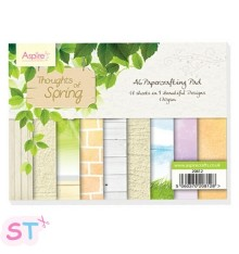 Paper Pad Thoughts Of Spring A6