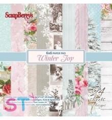 Paper Pad Winter Joy 6x6