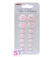 Set de Rosas Wedding Scrapberrys