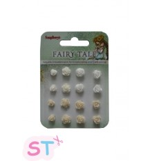 Set de Rosas Fairy Tale 3 Scrapberrys
