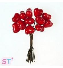 Hearts (Corazones) x 12 Scrapberrys