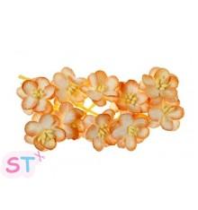 Cherry Blossom Naranja y blanco x 10 Scrapberrys