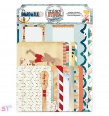 36 Figuras recortadas Misc Me Journal Pack Boardwalk Bo Bunny