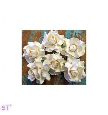 Flores para teñir Rose de Marion Smith Designs