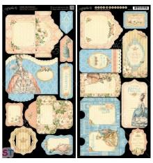 Gilded Lily Tags and Pockets Cartulina precortada Graphic 45