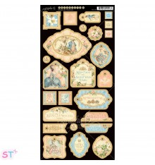 Gilded Lily Decorative Chipboard precortado Graphic 45